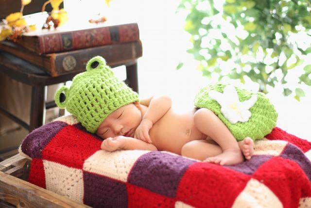 新生児の撮影も可能です!